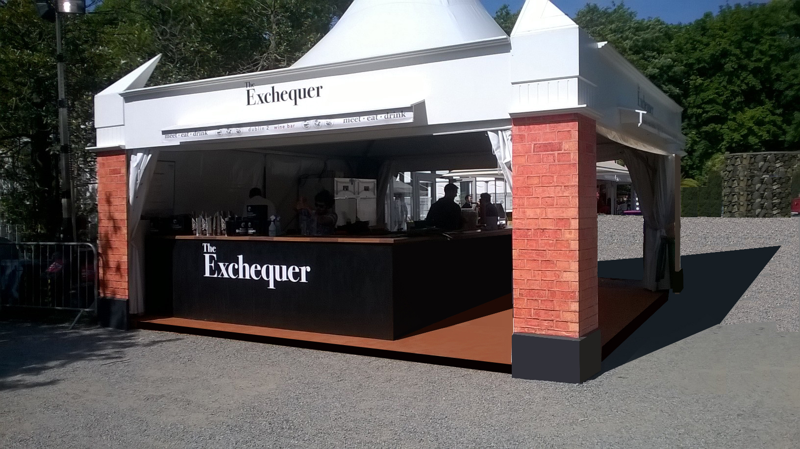 The Exchequer Bar at Taste of Dublin