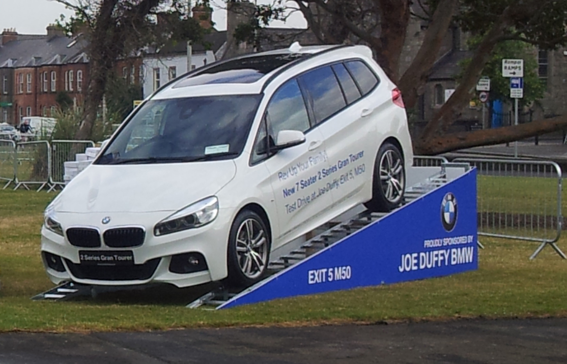 Car Ramp & Branding for Joe Duffy Motors
