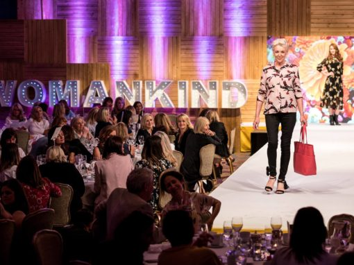 Womankind fashion show in association with Pluto Events