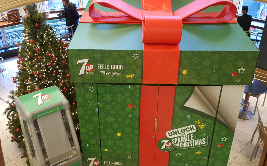 7up 'Unlock the Sparkle this Christmas' in association with Profile Events