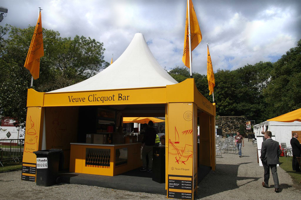 Veuve Clicquot Bar marquee in association with Edward Dillon