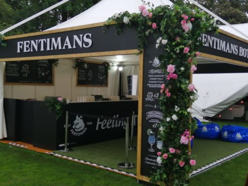 Fentimans Botanical Bar as part of Taste of Dublin, in association with Pluto