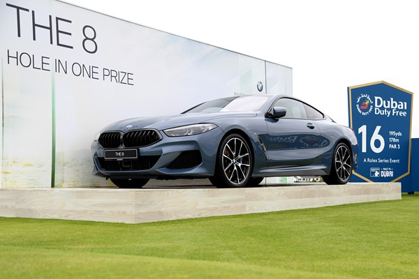 BMW Hole-In-One Award at Irish Open, Lahinch Golf Club